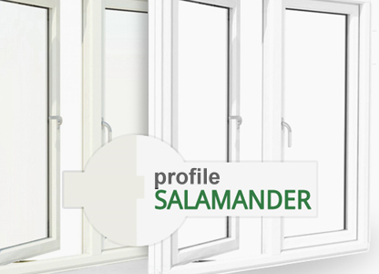 Salamander - profile PVC cu geam termopan